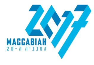 maccabiah 2017 logo